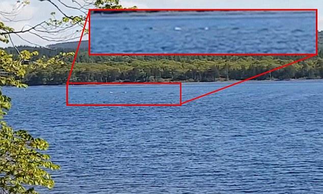 Du khách chụp được ảnh quái vật hồ Loch Ness? - 2