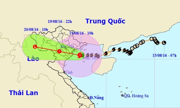 Bão Thần Sét đã suy yếu thành áp thấp nhiệt đới - 12