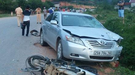 Cảnh cáo người nhận tội thay thiếu tá CSGT gây tai nạn - 1