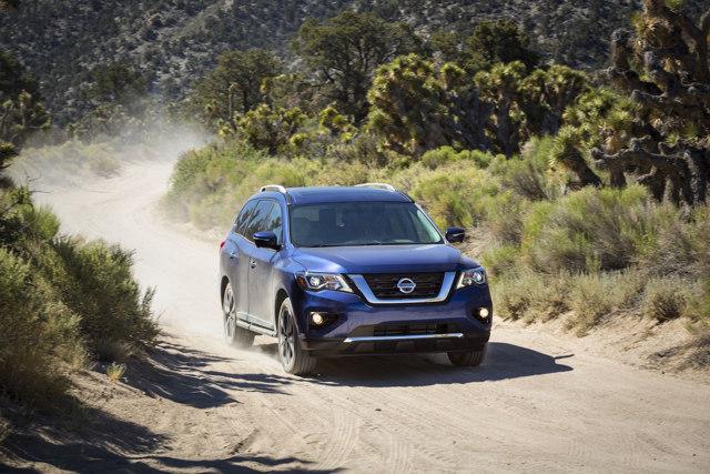 Những nâng cấp đáng giá của Nissan Pathfinder 2017 - 2