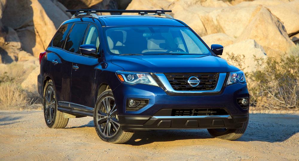 Những nâng cấp đáng giá của Nissan Pathfinder 2017 - 1
