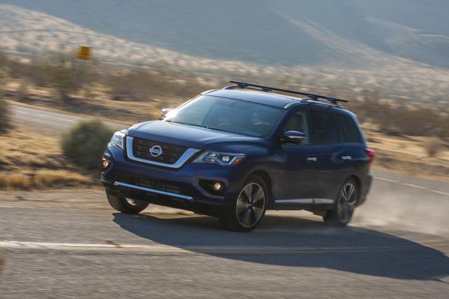 Những nâng cấp đáng giá của Nissan Pathfinder 2017 - 5