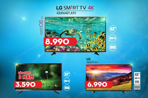 Điện máy HC gợi ý Model TV tích hợp đầu thu kỹ thuật số giá ưu đãi - 2