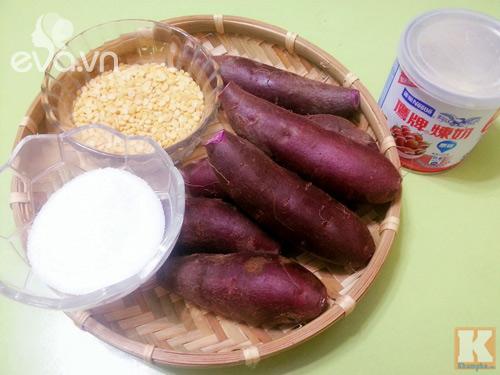 Bánh Trung thu khoai lang tím vừa ngon lại đẹp mắt - 1