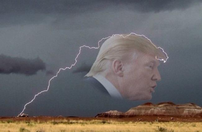 Tia sét hình khủng long bạo chúa trên bầu trời Mỹ - 2