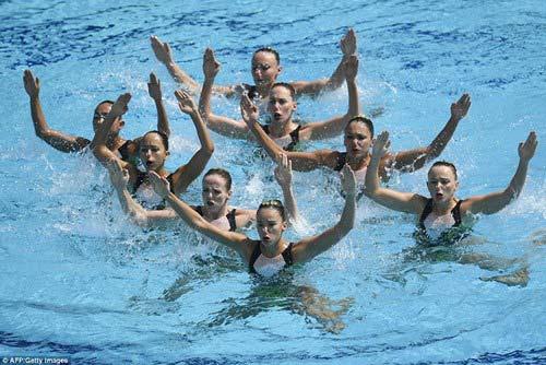Chiêm ngưỡng những vũ điệu dưới nước tuyệt đẹp tại Olympic Rio - 1