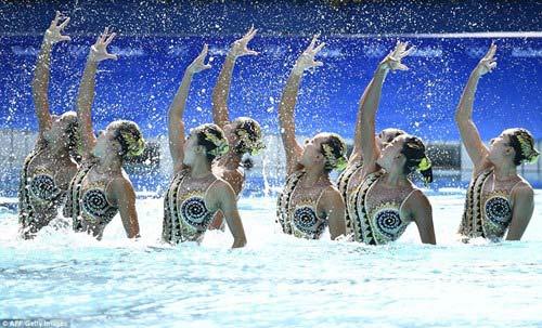 Chiêm ngưỡng những vũ điệu dưới nước tuyệt đẹp tại Olympic Rio - 3