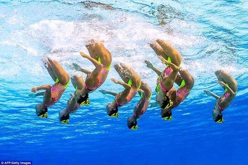 Chiêm ngưỡng những vũ điệu dưới nước tuyệt đẹp tại Olympic Rio - 4