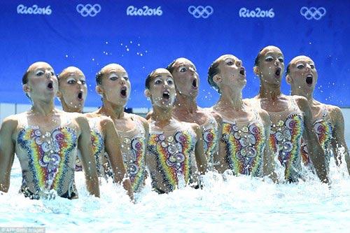 Chiêm ngưỡng những vũ điệu dưới nước tuyệt đẹp tại Olympic Rio - 8