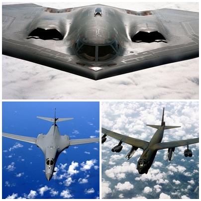Sức mạnh bộ ba máy bay hạt nhân Mỹ lượn ở Biển Đông - 2