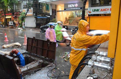 HN: Bão Thần Sét giật tung 100 gốc cây, làm bị thương 2 người - 8