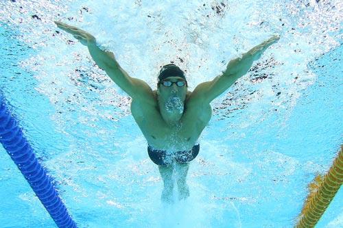 """Vua HCV Olympic M.Phelps: """"Vô địch thiên hạ"""" bẩm sinh (P2) - 1"""