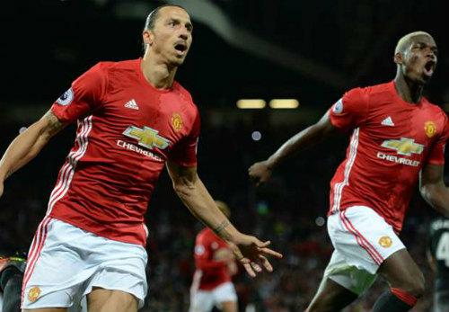 """Mourinho """"phát cuồng"""" vì Pogba ra mắt chói sáng - 1"""