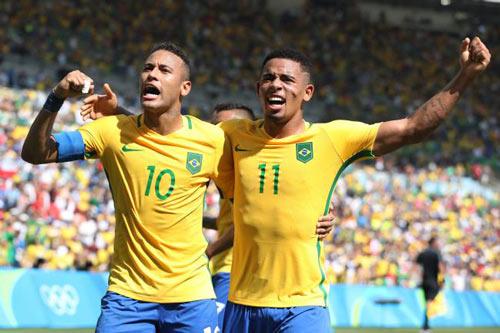 Brazil – Đức: Vì giấc mơ dang dở (Chung kết bóng đá Olympic) - 1