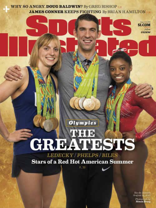 """Bảng xếp hạng HCV Olympic: """"Bái phục"""" các siêu VĐV Mỹ - 1"""