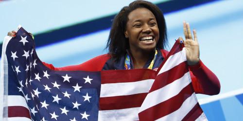 """Bảng xếp hạng HCV Olympic: """"Bái phục"""" các siêu VĐV Mỹ - 6"""