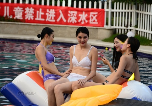 Trai xinh gái đẹp Trung Quốc nô nức hẹn hò ướt át - 5