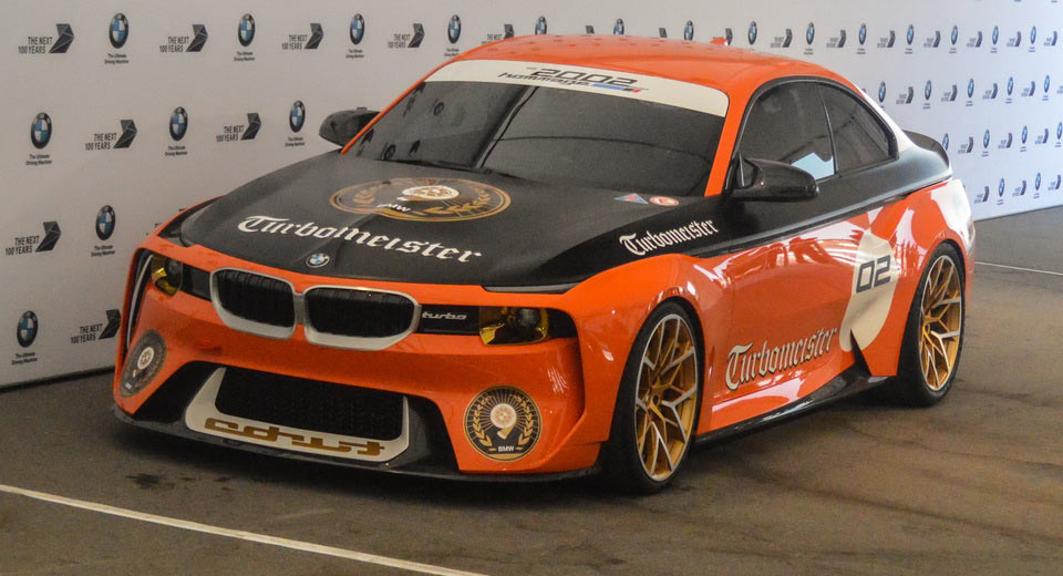 "Ngắm BMW 2002 Hommage Turbomeister Concept ""cánh cam"" tại Pebble Beach - 1"