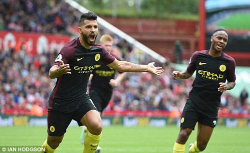 Stoke - Man City: 2 quả penalty và 2 cú đúp - 1