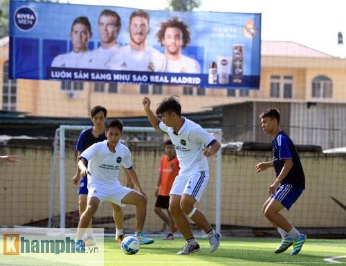 """Bóng đá """"phủi"""" Sài Gòn so tài nảy lửa săn vé đến Real Madrid - 8"""
