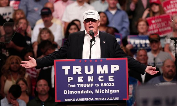 """Trump quay ngoắt thái độ, """"nịnh nọt"""" người da đen - 1"""
