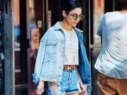 Thu rồi, lại đến mùa diện áo khoác jeans