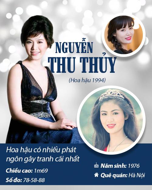 Infographic: Vẻ đẹp hút hồn của 14 hoa hậu Việt Nam - 4
