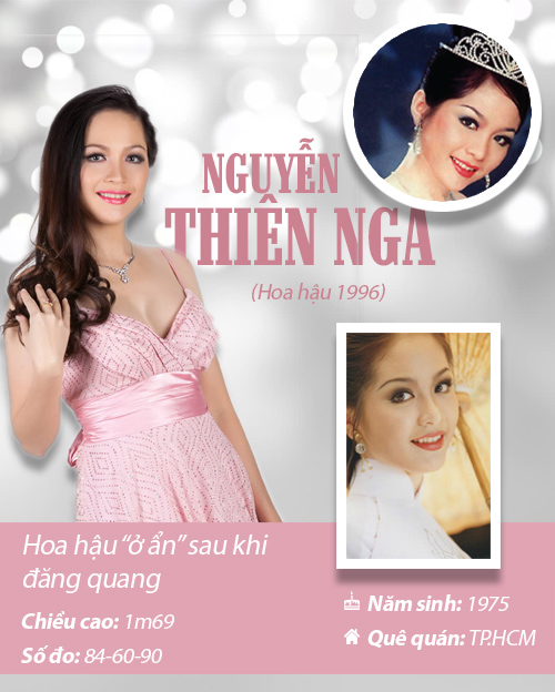 Infographic: Vẻ đẹp hút hồn của 14 hoa hậu Việt Nam - 5