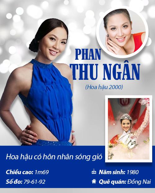 Infographic: Vẻ đẹp hút hồn của 14 hoa hậu Việt Nam - 7