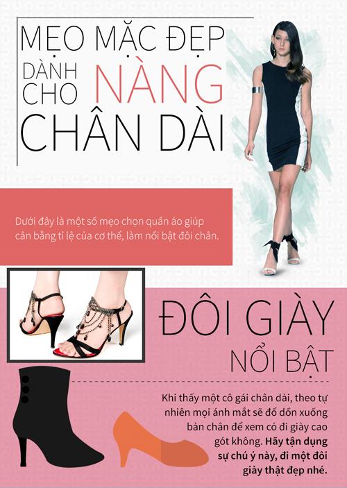 4 mẹo mặc đẹp không thể bỏ qua dành cho các nàng chân dài - 1
