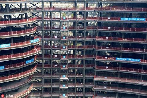 Khách sạn nửa tỷ USD dưới hố sâu 100m ở Trung Quốc - 2