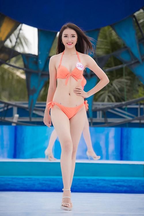 Nét đẹp xuân thì của 3 cô gái vừa bỏ thi Hoa hậu VN - 1