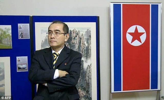 """Triều Tiên gọi Phó đại sứ bỏ trốn là """"cặn bã loài người"""" - 1"""