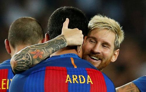 """Không đủ """"MSN"""", Barca đã có bộ ba """"MAS"""" - 1"""