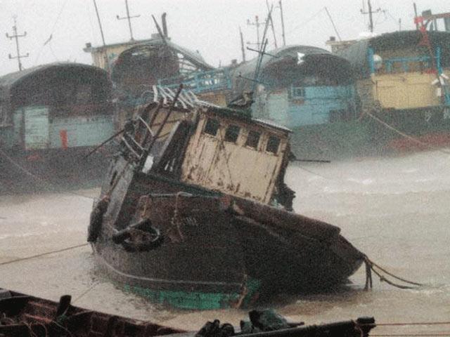 Bình ga phát nổ trên tàu cá giữa biển - 1