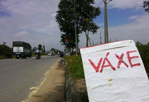 """""""Đinh tặc"""" lộng hành trên Đại lộ dài nhất Việt Nam - 1"""