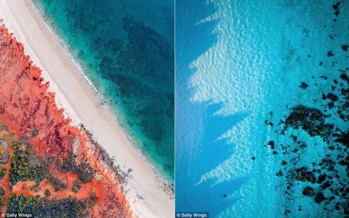 Bãi biển ở Australia đẹp hút hồn từ trên cao - 2