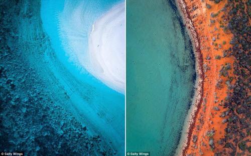 Bãi biển ở Australia đẹp hút hồn từ trên cao - 4