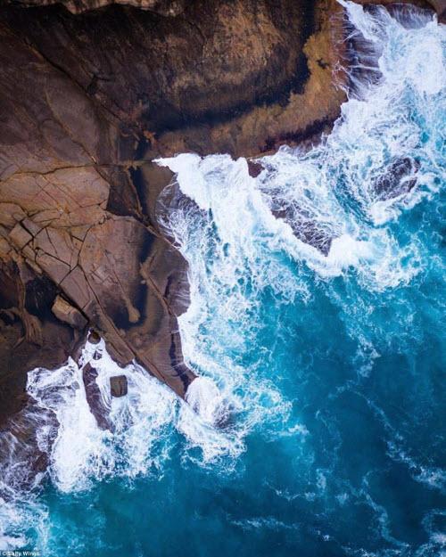 Bãi biển ở Australia đẹp hút hồn từ trên cao - 5