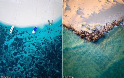 Bãi biển ở Australia đẹp hút hồn từ trên cao - 7
