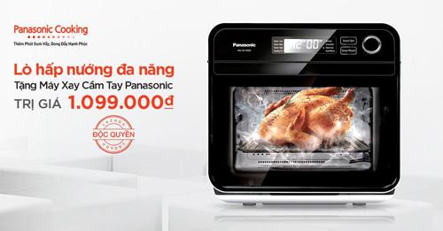 Nấu ăn ngon trong tích tắc với lò hấp nướng đa năng Panasonic - 1