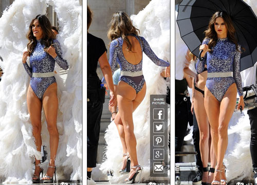 4 siêu mẫu mặc nội y, đeo cánh khuấy đảo nhà hát Paris - 4
