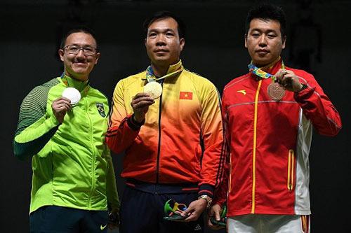 Bảng tổng sắp huy chương Olympic 2016: Việt Nam trong top 50 - 2