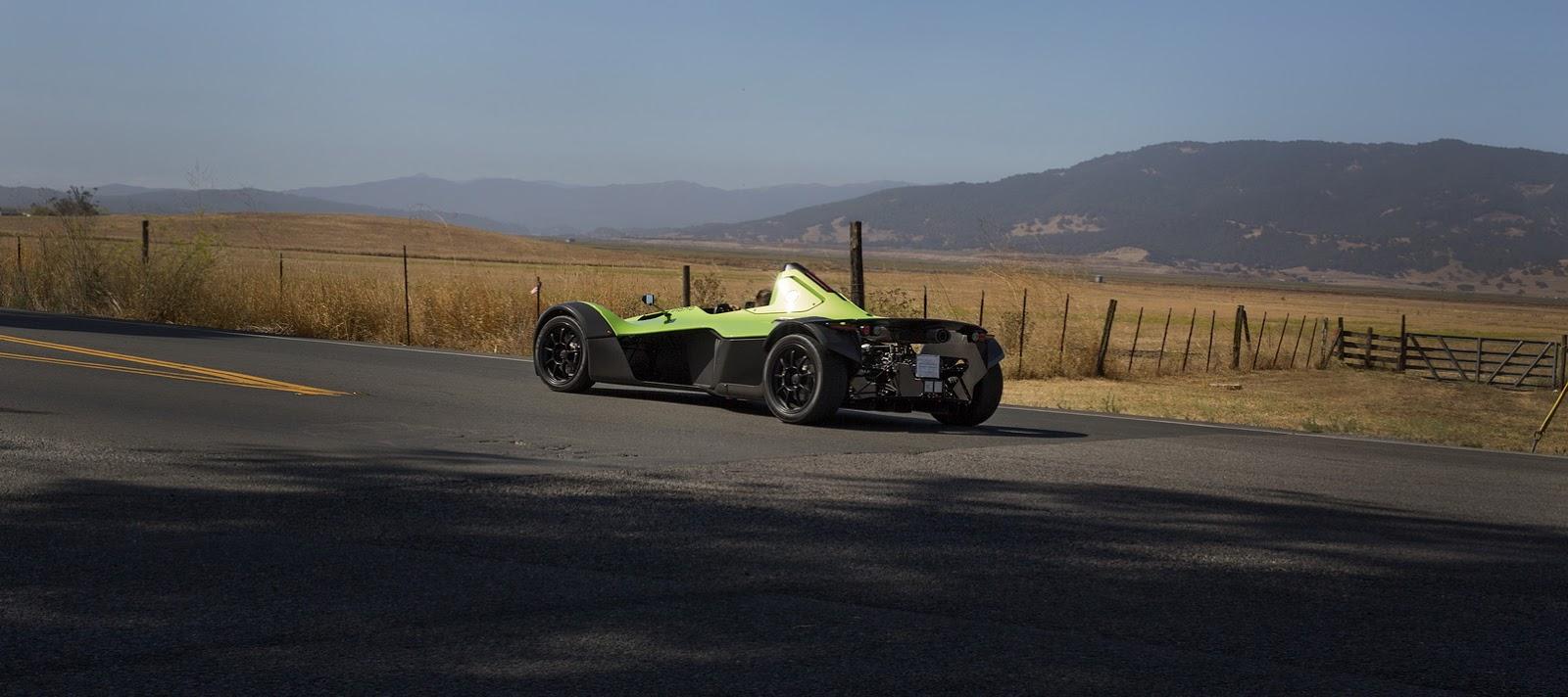 BAC mang mẫu siêu xe Mono Single-Seater Supercar tới Pebble Beach - 2