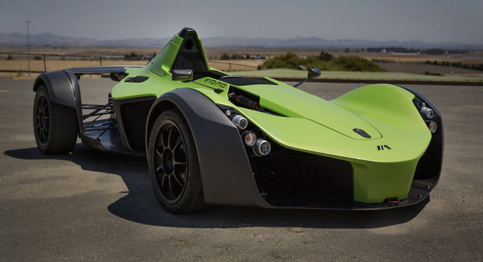BAC mang mẫu siêu xe Mono Single-Seater Supercar tới Pebble Beach - 1