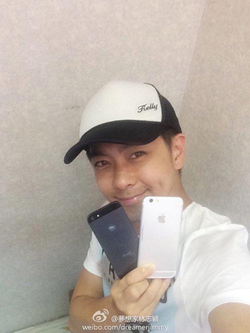 HOT: Lâm Chí Dĩnh khoe ảnh trên tay iPhone 7 Plus - 2