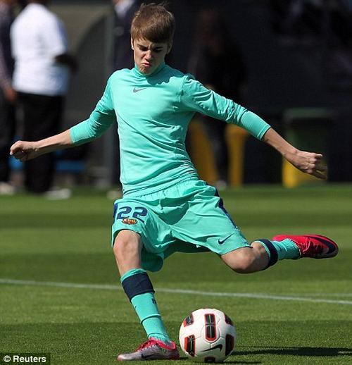 Xôn xao tin Justin Bieber đóng phim cùng Ronaldo - 1