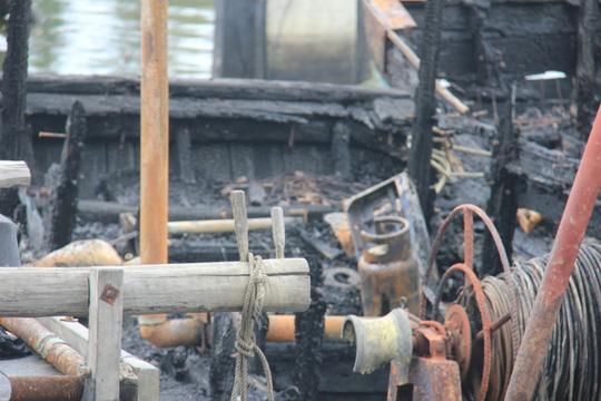 Nổ bình gas trên tàu cá, thuyền trưởng tử vong - 1