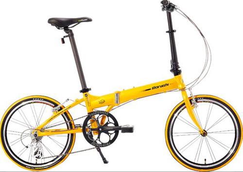 Xe đạp Mini Nhật không mòn theo thời gian - 4