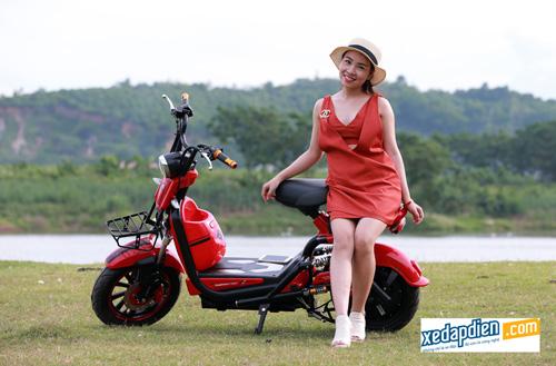 Độc đáo xe đạp, xe máy điện chống nước giá rẻ tại Hà Nội - 1